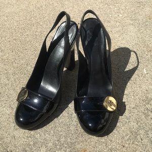 Tory Burch Black Heels